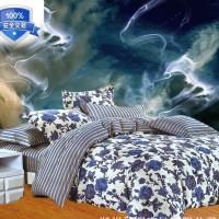 冬季磨毛四件套床上用品斜纹加厚超柔保暖金丝植物绒4件套供