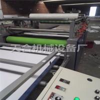 全自动强化地板压机 全自动PVC发泡板贴面机 精简自动贴面机