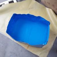 厂家供应 地板浸泡水池 可折叠方便移动 小型养鱼池  卖鱼水池