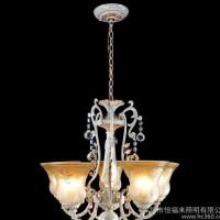 欧式吊灯客厅餐厅灯卧室树脂灯具欧式豪华仿古灯 亏本促销1231-5