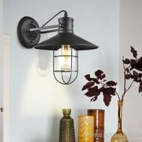 设计师的专属Loft乡村工业复古欧式床头灯仓库鸟笼壁灯吸顶灯