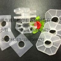 支架厂家供应八角型端盖四方型保鲜膜托架铝箔卷膜塑料支架