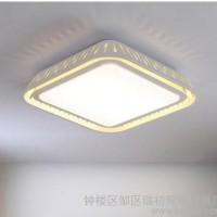 LED吸顶灯长方形客厅灯个性创意卧室灯温馨浪漫大气房间书房灯具