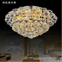 供应玖玖炫 水晶灯现代简约奢华水晶吸顶灯具客厅卧室餐厅灯饰7189